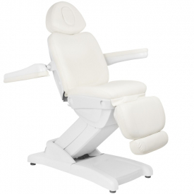 Fotel Kosmetyczny Elektr. Azzurro 871 4 Siln. Biały #2