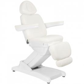 Fotel Kosmetyczny Elektr. Azzurro 871a 2 Siln. Biały #7