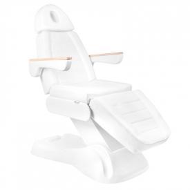 Elektryczny Fotel Kosmetyczny Lux 273b 3 Silniki Biały #2