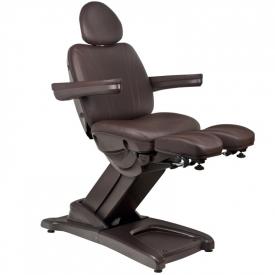 Fotel Kosmetyczny Elektr. Azzurro 872s Pedi-Pro 3 Siln. Brązowy #3