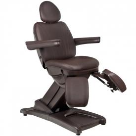 Fotel Kosmetyczny Elektr. Azzurro 872s Pedi-Pro 3 Siln. Brązowy #5