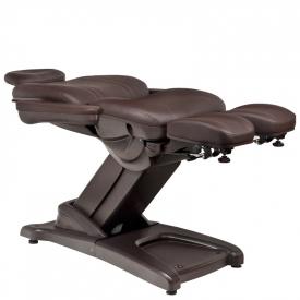 Fotel Kosmetyczny Elektr. Azzurro 872s Pedi-Pro 3 Siln. Brązowy #6