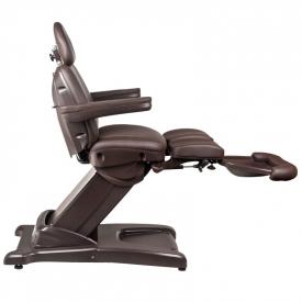 Fotel Kosmetyczny Elektr. Azzurro 872s Pedi-Pro 3 Siln. Brązowy #7