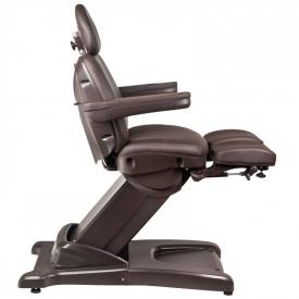 Fotel Kosmetyczny Elektr. Azzurro 872s Pedi-Pro 3 Siln. Brązowy #8