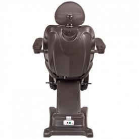 Fotel Kosmetyczny Elektr. Azzurro 872s Pedi-Pro 3 Siln. Brązowy #10