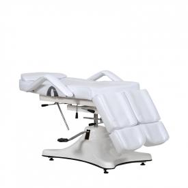 Fotel Kosmetyczny Komfort Duo Biały #2