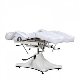 Fotel Kosmetyczny Komfort Duo Biały #4