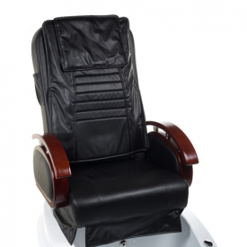 Fotel do pedicure z masażem BR-2307 Czarny #2