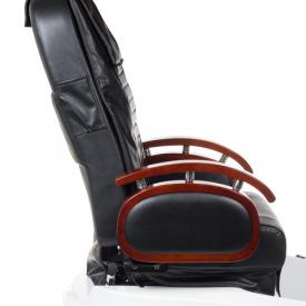 Fotel do pedicure z masażem BR-2307 Czarny #3