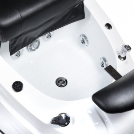 Fotel do pedicure z masażem BR-2307 Czarny #8