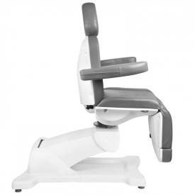 Fotel Kosmetyczny Elektr. Azzurro 869A Obrotowy 4 Siln. Szary #2