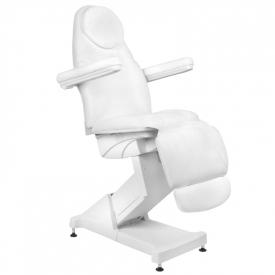 Fotel Kosmetyczny Elektr. Basic 158 3 Siln. Biały #3