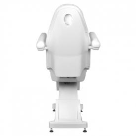 Fotel Kosmetyczny Elektr. Basic 158 3 Siln. Biały #6