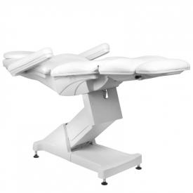 Fotel Kosmetyczny Elektr. Basic 158 3 Siln. Biały #7