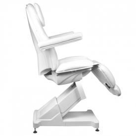 Fotel Kosmetyczny Elektr. Basic 158 3 Siln. Biały #10