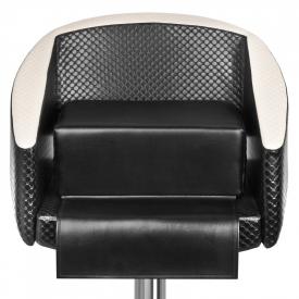 Siedzisko Dzieciece Na Fotel Fryzjerski Czarne #2