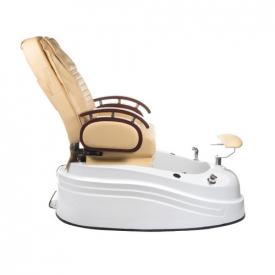 Fotel do pedicure z masażem BR-2307 Beżowy #6