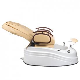 Fotel do pedicure z masażem BR-2307 Beżowy #7