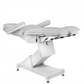 Fotel Kosmetyczny elektryczny BASIC 156 PEDI 3 SILN. SZARY #5