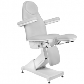 Fotel Kosmetyczny elektryczny BASIC 156 PEDI 3 SILN. SZARY #7