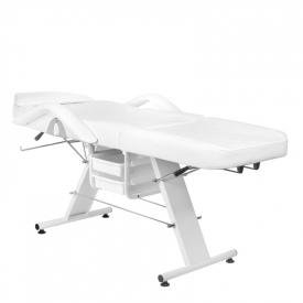 Fotel Kosmetyczny Basic 202 Biały #4