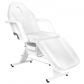 Fotel Kosmetyczny Basic 202 Biały #5