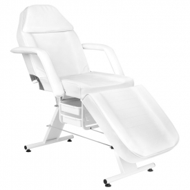 Fotel Kosmetyczny Basic 202 Biały #6