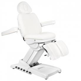 Fotel Kosmetyczny Elektr. Azzurro 872S Pedi Pro Exclusive 3 Siln. Biały #2