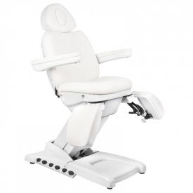 Fotel Kosmetyczny Elektr. Azzurro 872S Pedi Pro Exclusive 3 Siln. Biały #4