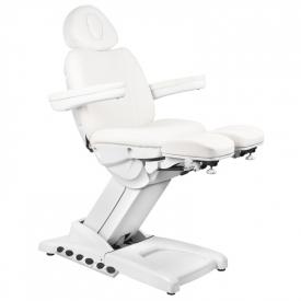 Fotel Kosmetyczny Elektr. Azzurro 872S Pedi Pro Exclusive 3 Siln. Biały #6