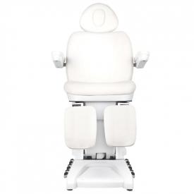 Fotel Kosmetyczny Elektr. Azzurro 872S Pedi Pro Exclusive 3 Siln. Biały #7