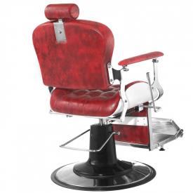 Gabbiano Fotel Barberski Premier Czerwony #4