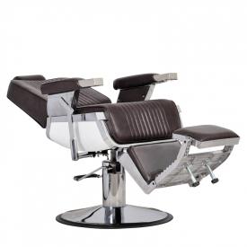 Fotel Fryzjerski Barber Brąz #2