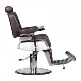 Fotel Fryzjerski Barber Brąz #4