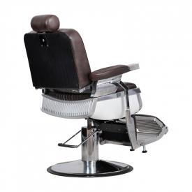 Fotel Fryzjerski Barber Brąz #5