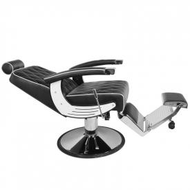 Gabbiano Fotel Barberski Imperial Czarny #2