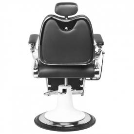 Gabbiano Fotel Barberski Moto Style Czarny #5