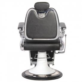 Gabbiano Fotel Barberski Moto Style Czarny #7