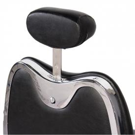 Gabbiano Fotel Barberski Moto Style Czarny #8