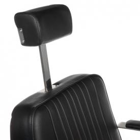 Fotel Barberski HOMER BH-31237 Czarny #2