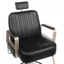 Fotel Barberski HOMER BH-31237 Czarny #4