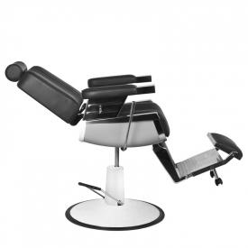 Gabbiano Fotel Barberski Royal Czarny #2