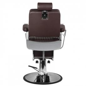 Gabbiano Fotel Barberski Royal Brązowy #3