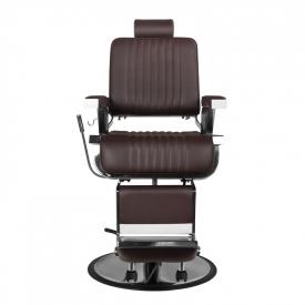 Gabbiano Fotel Barberski Royal Brązowy #4
