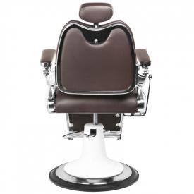 Gabbiano Fotel Barberski Moto Style Brązowy #5