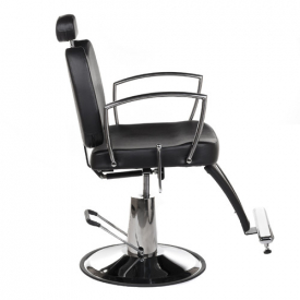 Fotel Barberski Homer II BH-31275 Czarny #6