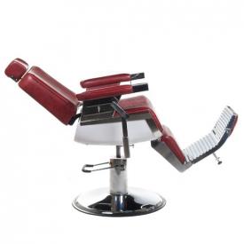 Fotel Barberski Lumber BH-31823 Burgund #6