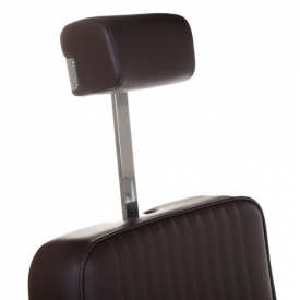 Fotel Barberski Lumber BH-31823 Brązowy #2