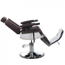 Fotel Barberski Lumber BH-31823 Brązowy #5