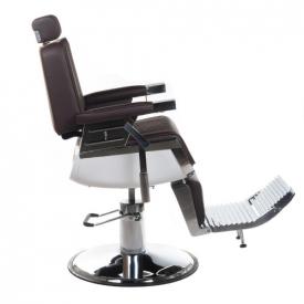 Fotel Barberski Lumber BH-31823 Brązowy #7